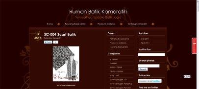 Kamaratih Batik's New Look