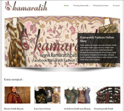 Kamaratih Fashion Online Shop
