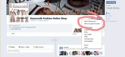 Facebookk FanPage